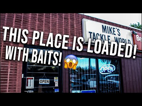 This HIDDEN Tackle Store Has An INSANE Amount Of OLD SCHOOL Baits!