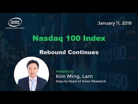 Nasdaq 100 Index:   Rebound Continues