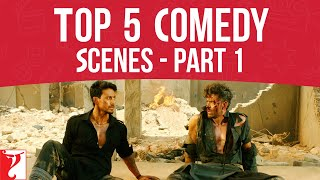 Top 5 Comedy Scenes | Part 1 | Hrithik Roshan, Tiger Shroff, Salman, Varun, Anushka, Javed Jaffery