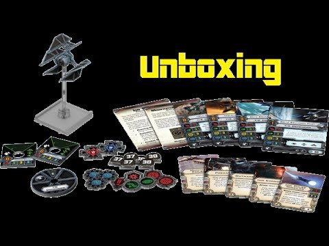 11th Legion Presents: X-Wing Miniatures Game: Tie Defender Unboxing
