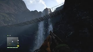 Far Cry 4 - Rock Climbing 3 & Waterfall Gameplay