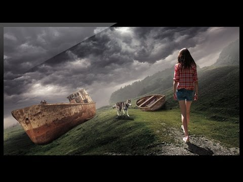 Photoshop Tutorial - Photo Manipulation - Photoshop Compositing