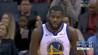 Golden State Warriors vs Charlotte Hornets - Eric Paschall Highlights 16 Pts, 1 Asts, and 6 Rbds