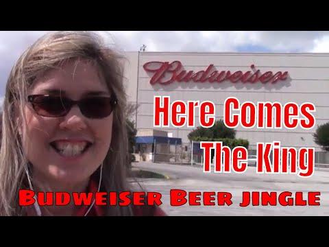 "Budweiser Jingle ""Here Comes the King"" - Edie Murphy sings the King of Beers song"