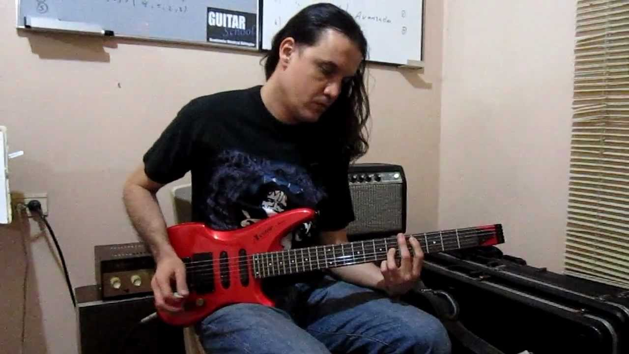 Jorge Oleas From Darkempire Playing The Axstar Ibanez