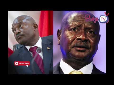 Leta y'u Burundi irashinja iya Uganda kumena amabanga