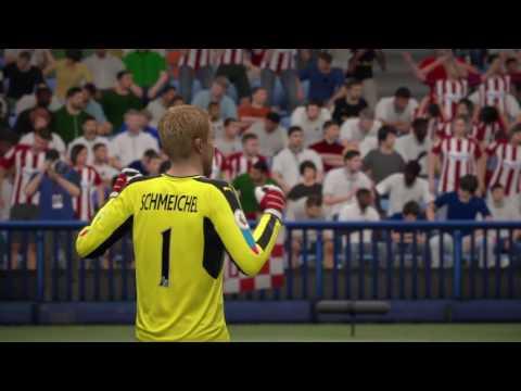 FIFA 17 Champions Atlético de Madrid vs Leicester