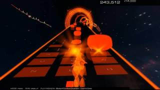 Body of Conflict (Club Mix) by Cosmic Gate an Audiosurf 2 Journey