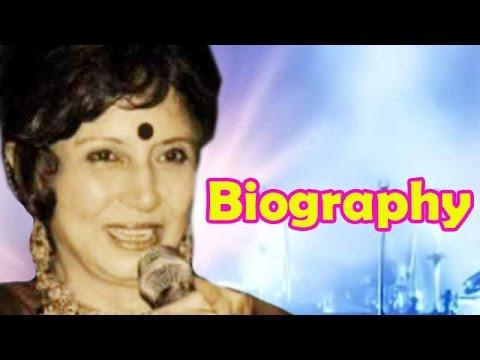 Sharda Rajan Iyengar Biography Indian Playback Singer Youtube