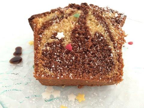 gateau-marbré-vanille-chocolat