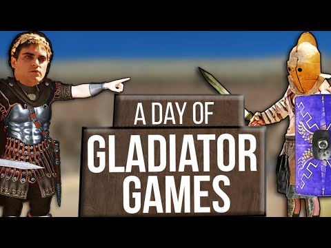 What Being A Spectator At The Roman Gladiator Games Was Like | Gladiator Games In Ancient Rome