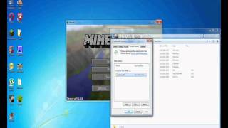 Minecraft downgrade tutorial all versions - Windows 7