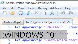 Top 23 PowerShell Commands to Uninstall Windows 10 Built-in Apps
