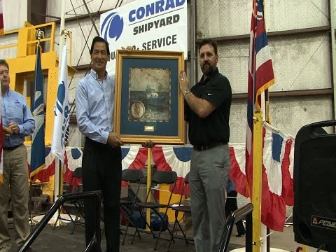 CONRAD KEEL LAYING