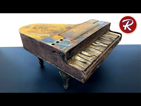 Barn Find Antique Piano Restoration