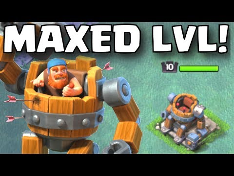 Clash of Clans MAXED LEVEL BATTLE MACHINE GAMEPLAY | BUILDER HALL LEVEL 6 NEW HERO UPDATE GAMEPLAY