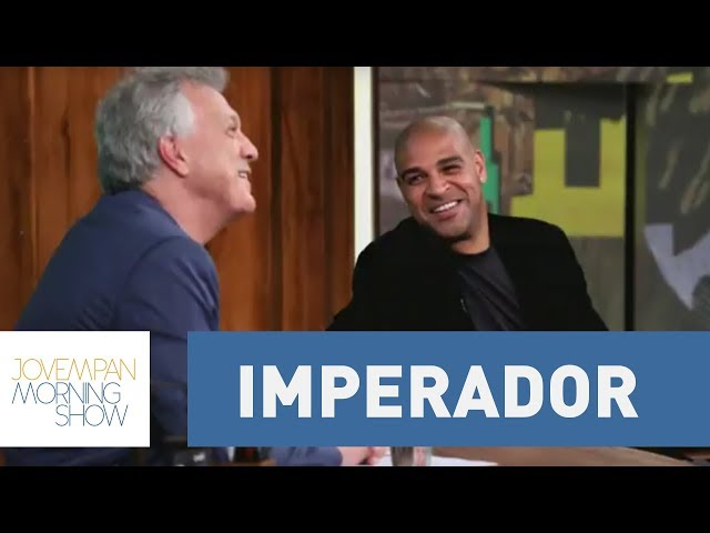 """""""O mal não se trata com o mal, o mal se trata com o bem"""", diz Adriano Imperador a Pedro Bial."""