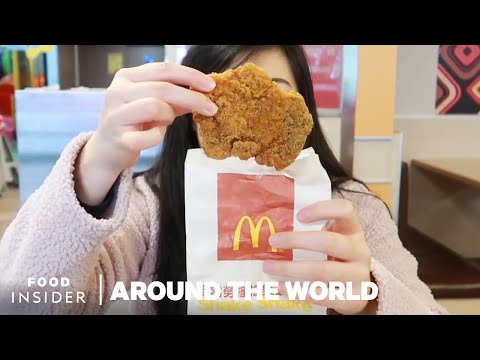 What McDonald's Menu Items Look Like Around The World