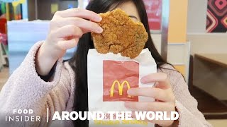 What McDonalds Menu Items Look Like Around The World