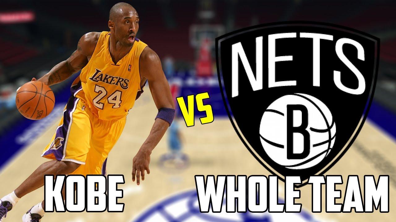 wholesale dealer 77b67 04cb0 CAN KOBE BRYANT BEAT THE WORST NBA TEAM BY HIMSELF  NBA 2K17!