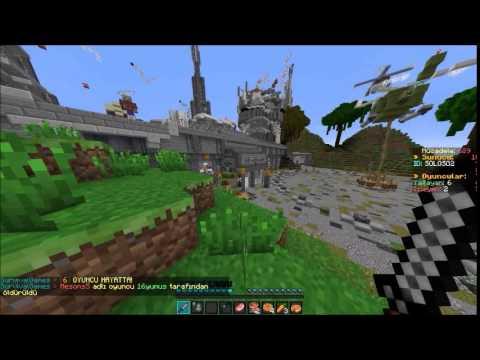Minecraft Survival Games#Bölüm 1#Kanala Reset Ve Hack !