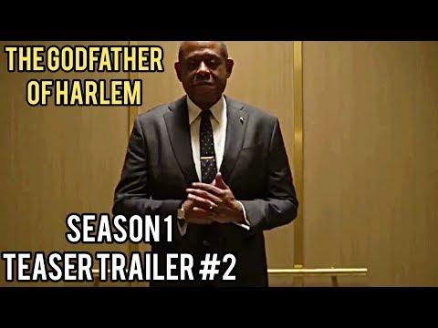 Крестный отец Гарлема / Godfather Of Harlem | 1 сезон - Тизер-трейлер #2 (2019) Форест Уитакер