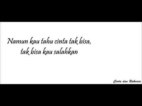 Lagu Cinta dan rahasia - Yura ft. glenn fredly