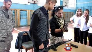 Встреча с военными. Урок мужества для 10 класса в школе № 34 г. Мариуполь