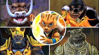 Legend of Kay Anniversary All Bosses | Final Boss (PS4, PS3, WiiU, PC)