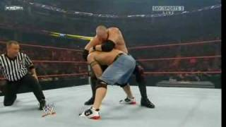WWE:John Cena and Batista Vs JBL and Kane