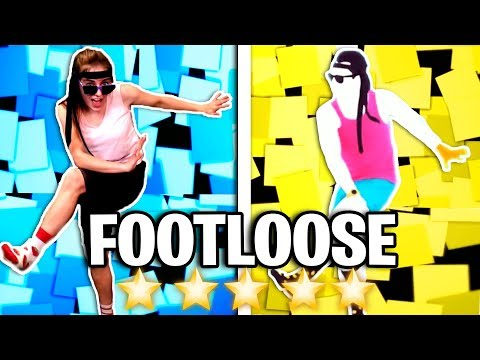 FOOTLOOSE! Blindfolded and Costume Changes | Just Dance 2018