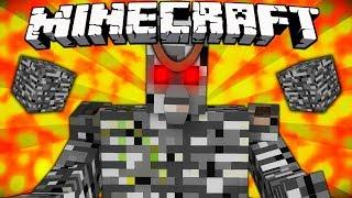 If Bedrock Golems Were in Minecraft