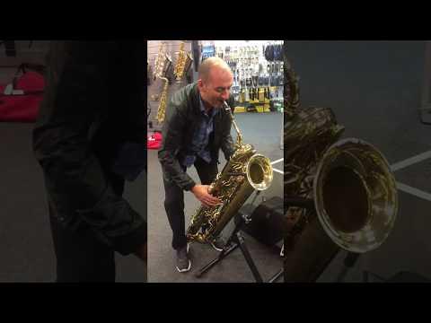 Eb Tubax contrabass saxophone