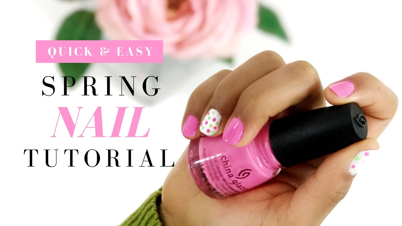 Easy Spring Nail Art Design For Beginners Sally Beauty Series