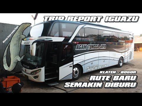RUTE BARU, SEMAKIN DIBURU!! Trip Report Sudiro Tungga Jaya IGUAZU Klaten - Jatiasih