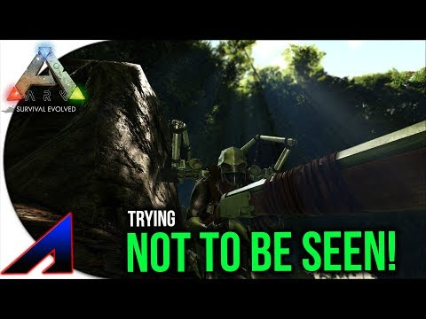 Trying not to be seen raid! | Solo Official PvP Servers ARK: Survival Evolved | Ep 56