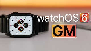 watchOS 6 GM is Out! - What's New?