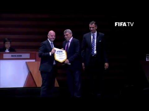 KOSOVO VOTED INTO FIFA