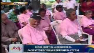 microondas hospital Larco Herrera