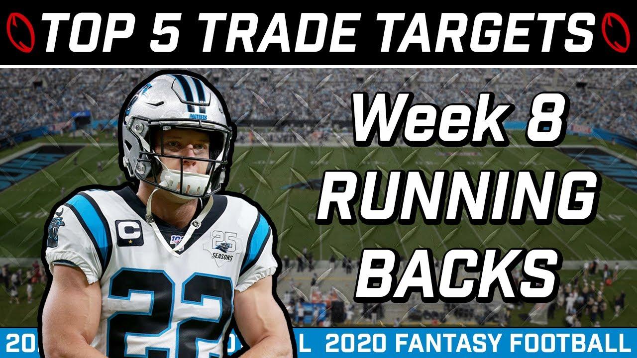 Week 8 Running Back Trade Targets || Trade Strategy || 2020 Fantasy Football Advice