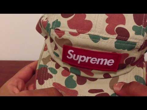 Supreme duck camo camp cap & Bape x UNDFT bucket