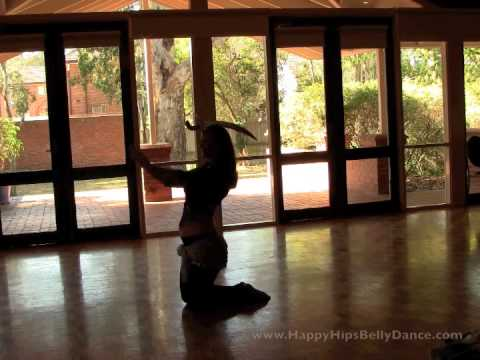 A sword dance in Silhouette