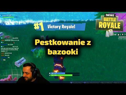 Pestki Indy Peski... z Bazooki - Fortnite Gra Battle Royale Gameplay