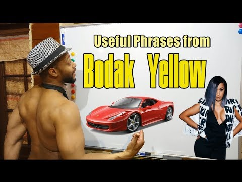 "Phrases From.... ""Bodak Yellow"" By Cardi B"