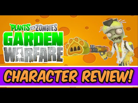 Plants Vs Zombies Garden Warfare Dr Chester Character