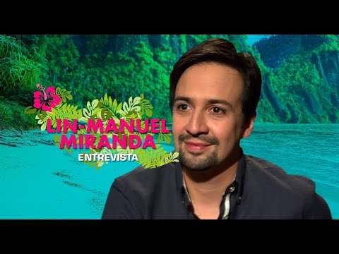 Entrevista Lin-Manuel Miranda por la música de Moana