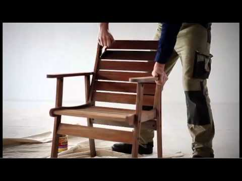 How To Restore Outdoor Timber Furniture Youtube