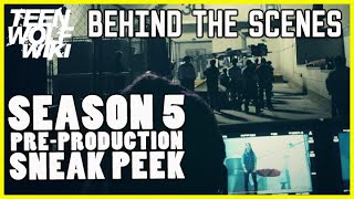 Teen Wolf News Season 5 Behind the Scenes Preview