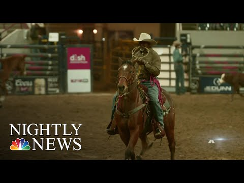 Rodeo Celebrates Black Cowboys And Cowgirls In History Of The American West | NBC Nightly News