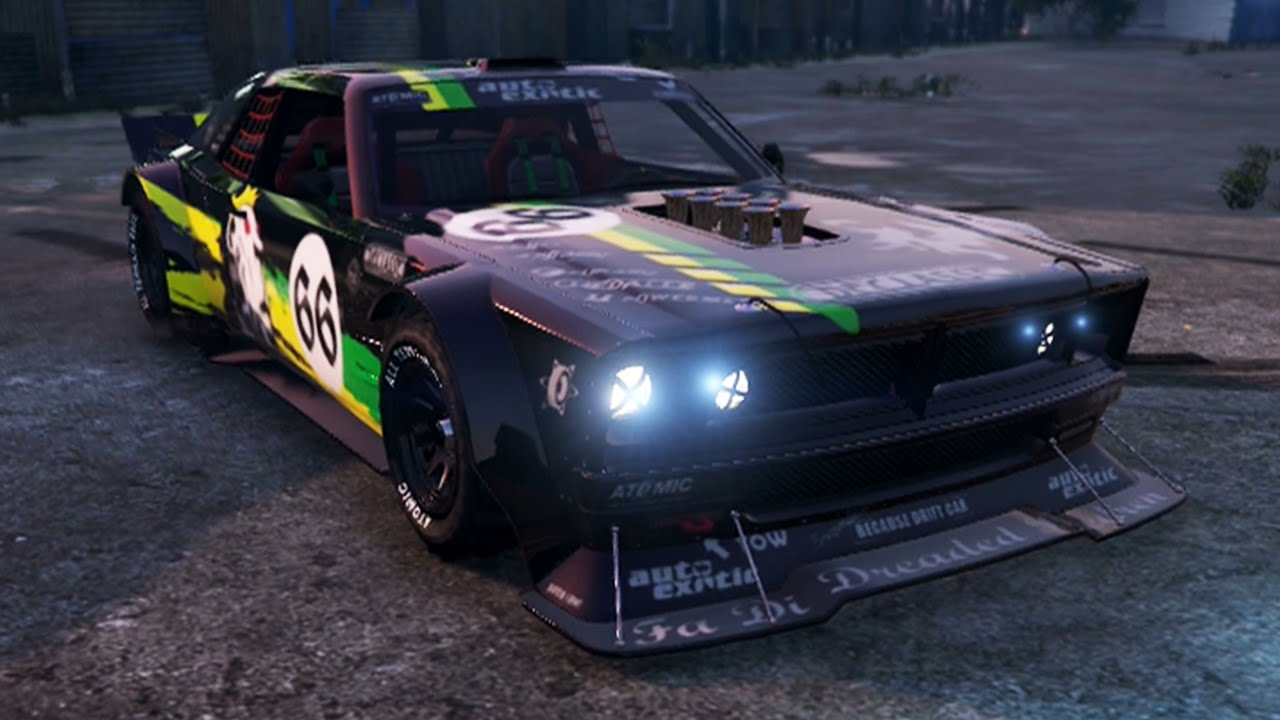 Gta Drift Tampa Ken Block S Mustang Tuning Customization Gta